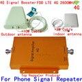 1 компл. 4 Г 65db репитера LTE FDD LTE booster repeater 4 Г сигнала ракета-носитель 4 Г 2600 мГц усилитель сигнала LTE 4 Г усилитель комплект с антенной