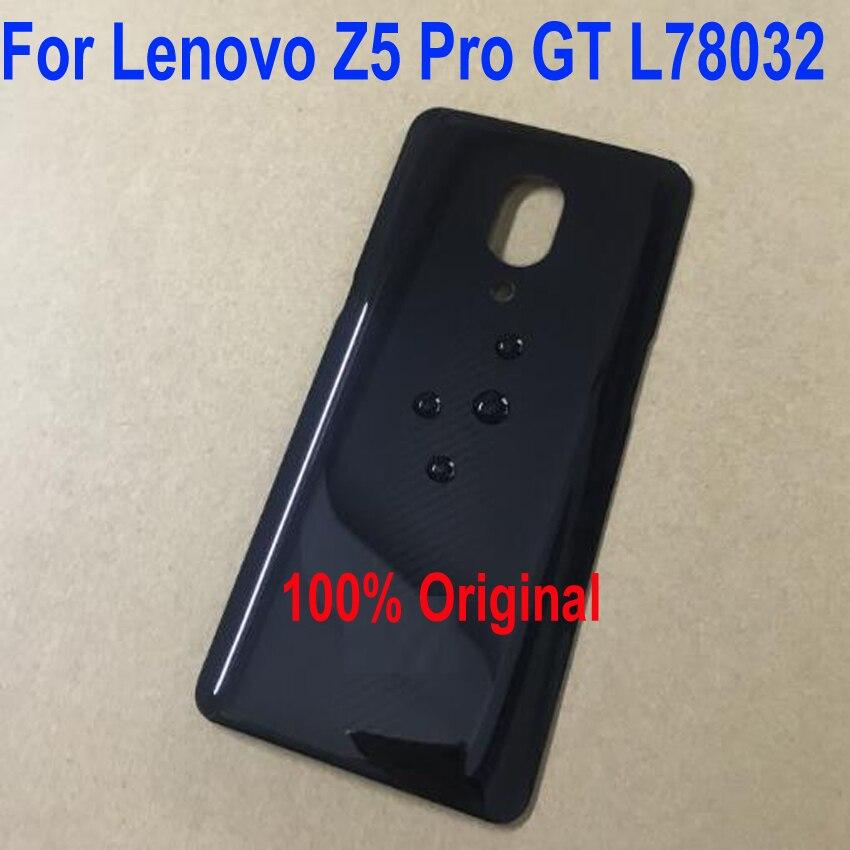 LTPro 100% Original Best Quality Back Rear Cover Battery Door Housing Case For Lenovo Z5 Pro GT L78032 Mobile Phone Parts Black