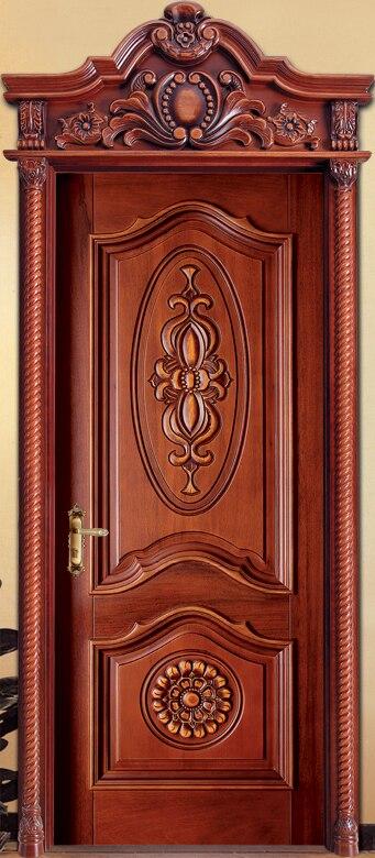 Offre spéciale de qualité supérieure et prix raisonnable portes intérieures extérieures et intérieures en bois massif avec portes intérieures en verre pvc