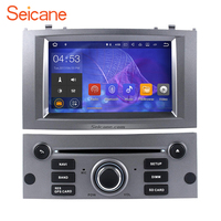 Seicane Android 7.1.1 Lettore DVD Radio GPS Unità di Testa per 2004-2010 Peugeot 407 Supporto WIFI Bluetooth MP3 Specchio Link 1080 P DVR