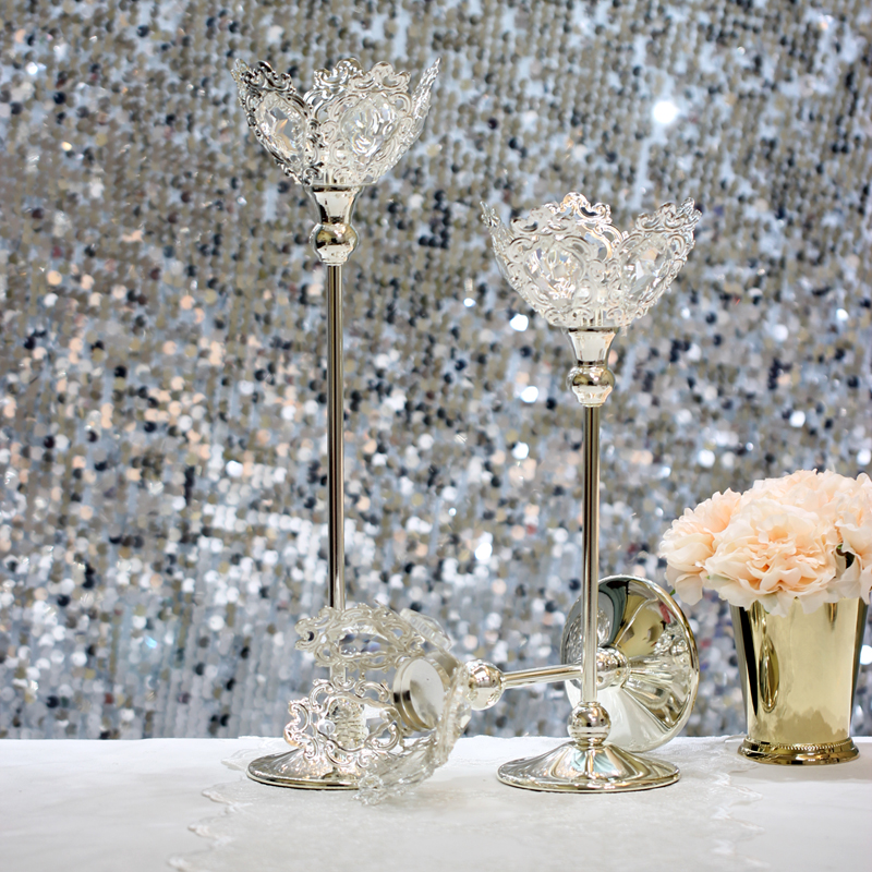 4374Christmas Gifts Luxury Crystal Silver Wedding ...