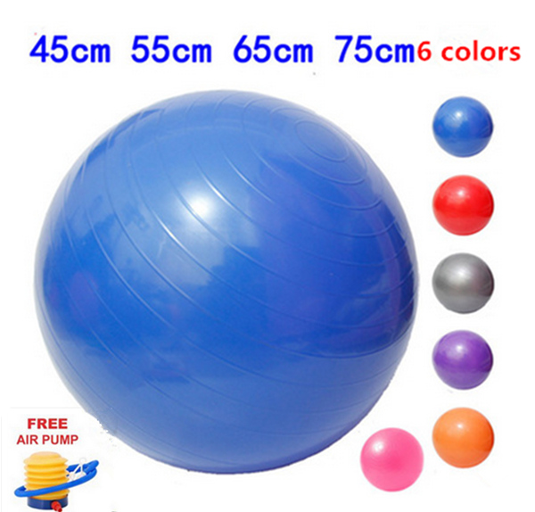 Balance Ball For Weight Loss: 55cm Yoga Fitness Ball Slimming Thin Body Weight Loss
