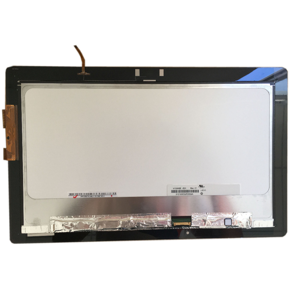 For Asus TX300 TX300CA N133HSE-E21 LCD Touch Screen Digitizer Assembly N133HSE-E21 NO-Frame