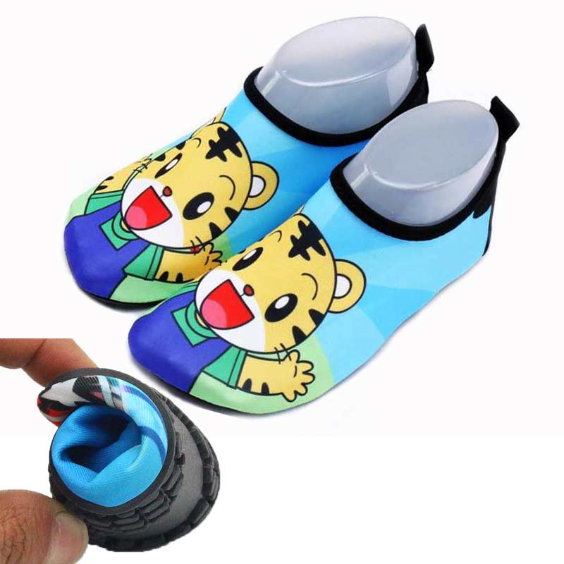 Unisex Quick Dry Shoe Kids Boys Shoe Sneaker Cartoon Tiger Sport Running For Swimming Pool Beach Kid Shoes Boy Girl Sneakers