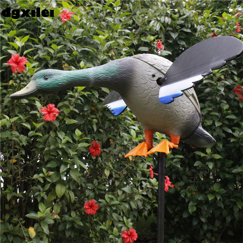 Xilei New Arrival Wholesale 6V/12V Remote Control Eco-Friendly Paint Duck Decoy Decoy With Magnet Spinning WingsXilei New Arrival Wholesale 6V/12V Remote Control Eco-Friendly Paint Duck Decoy Decoy With Magnet Spinning Wings