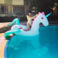 Swimming Pool Giant Pool Floats Inflatable Swimming Ring Pegasus Floating Adult Tube Raft Kid Pool Toys Summer Water Mattress