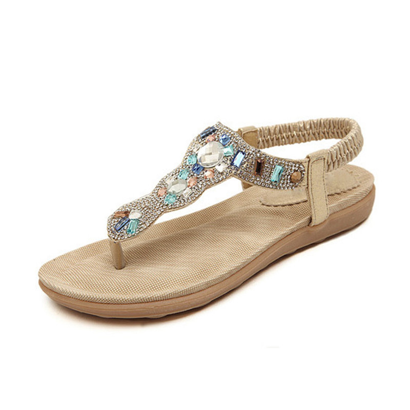 HEE-GRAND-Women-Sandals-Flat-with-Bling-Rhinestone-Fashion-Flip-Flop-High-Quality-Bohemia-Beach-Shoes (2)