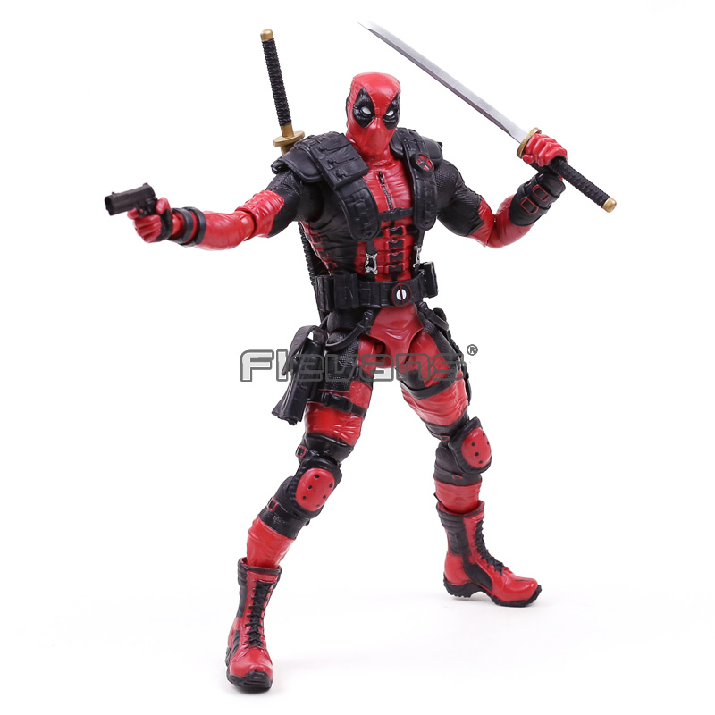Marvel Comics X-Men Legends Deadpool PVC Action Figure Collectible Model Toy 10 fire toy marvel deadpool pvc action figure collectible model toy 10 27cm mvfg363