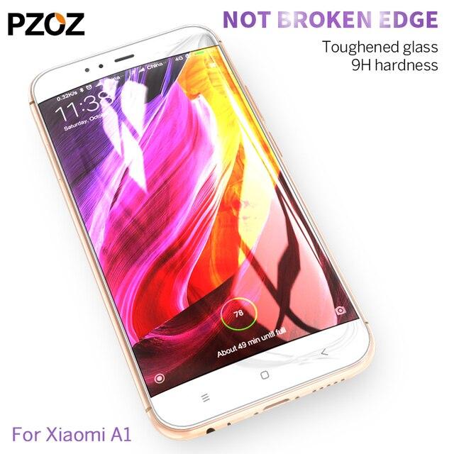 Pzoz Xiaomi Mi a1 стекло закаленное Полный-чехол Prime защита экрана xio Mi a1 стекло фильм оригинальный xao Mi xao A1 4 ГБ 64 ГБ 5.5 дюймов
