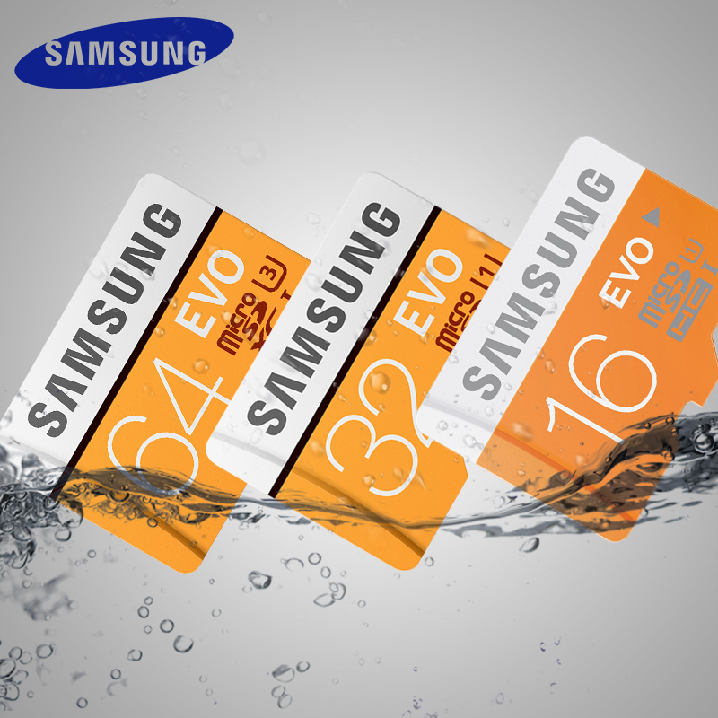 SAMSUNG EVO Memory Card 16GB 32GB SDHC 64GB 128GB SDXC TF Flash Card Micro SD Cards UHS-I Class10 C10 U3 For smart phones ...