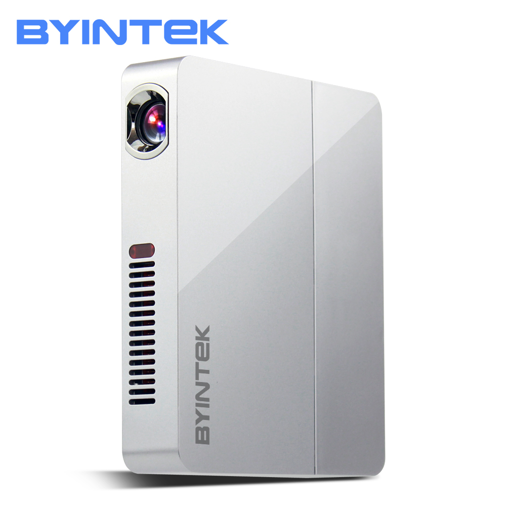 BYINTEK НЛО R9 дома Театр Бизнес офис Видео Micro Портативный DLP Мини светодио дный проектор Proyector Поддержка Full HD 1080p