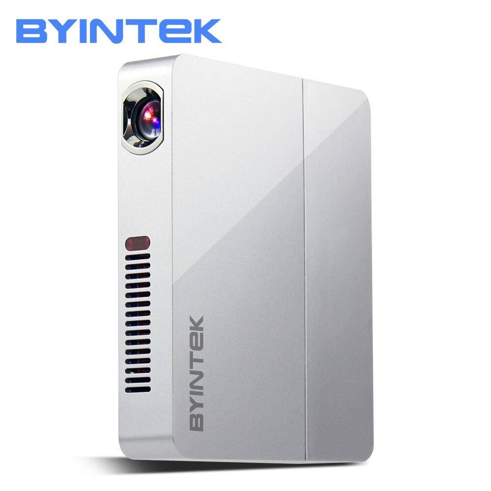 BYINTEK UFO R9 Home Cinéma Bureau D'affaires Vidéo Micro Portable DLP Mini LED Projecteur Proyector Soutien Full HD 1080 P