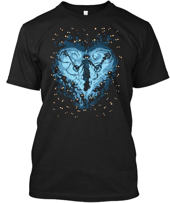 Kingdom Hearts Popular Tagless Tee T Shirt