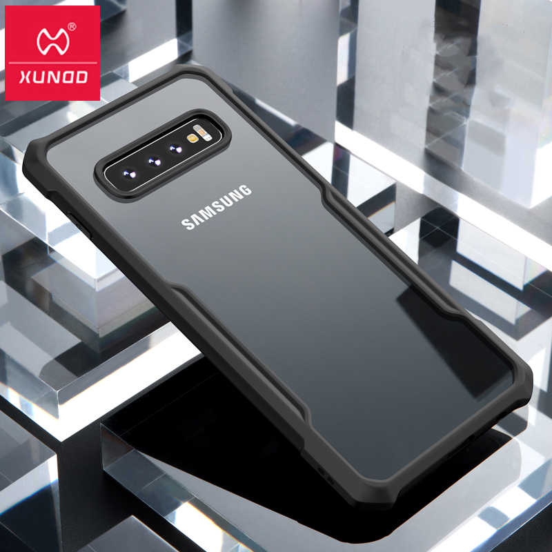 e8d5df8b00d For Samsung Galaxy S10 Plus S10 Case, Xundd Airbags Shockproof  Scratch-resistant Clear Armor
