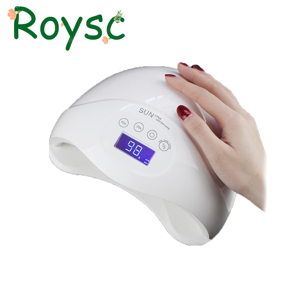 SUN5 Plus UVLED Fast Drying 48W Good Nail Dryer With Sensor Nail Dryer Long Life Curing Nail Tools for All UV Gel Nail Polish