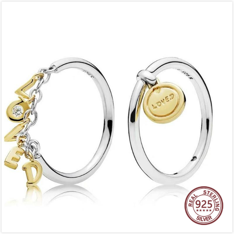 Medal of Love Ring Secret of Love Ring 925 sterling silve for women Personality  Alphabet Ring Fashion fine Jewelry 16779Medal of Love Ring Secret of Love Ring 925 sterling silve for women Personality  Alphabet Ring Fashion fine Jewelry 16779