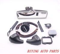 Auto headlight switch Rain Light Wiper Sensor Dimming Rear View Mirror For VW Tiguan Jetta MK5 Golf 6 MK6