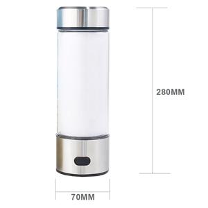 Image 5 - 500ML Portable Hydrogen Rich Generator Water Filter Ionizer H2 PEM Rich Hydrogen alkaline Bottle Electrolysis Drink Hydrogen