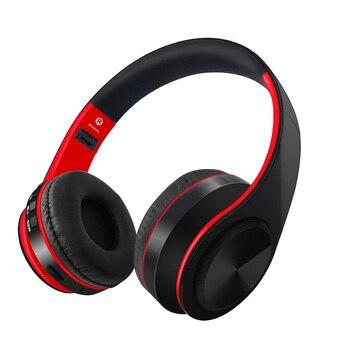 Desxz bluetooth ヘッドフォン HIFI ステレオイヤホン音楽ヘッドセットサポート SD カード fm マイク電話 xiaomi iphone sumsamg タブレット