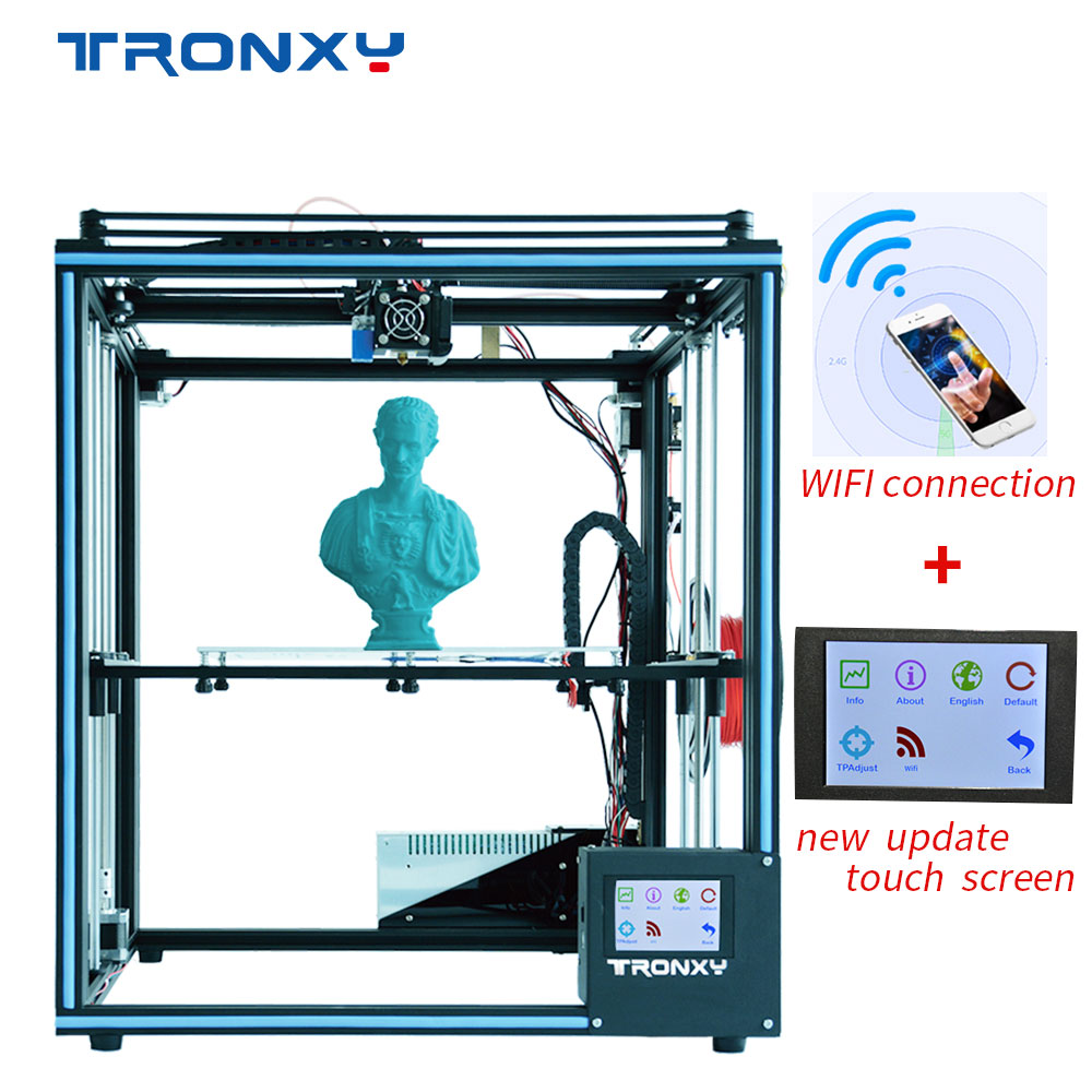 3d принтер Tronxy P802MA с автоматическим выравниванием