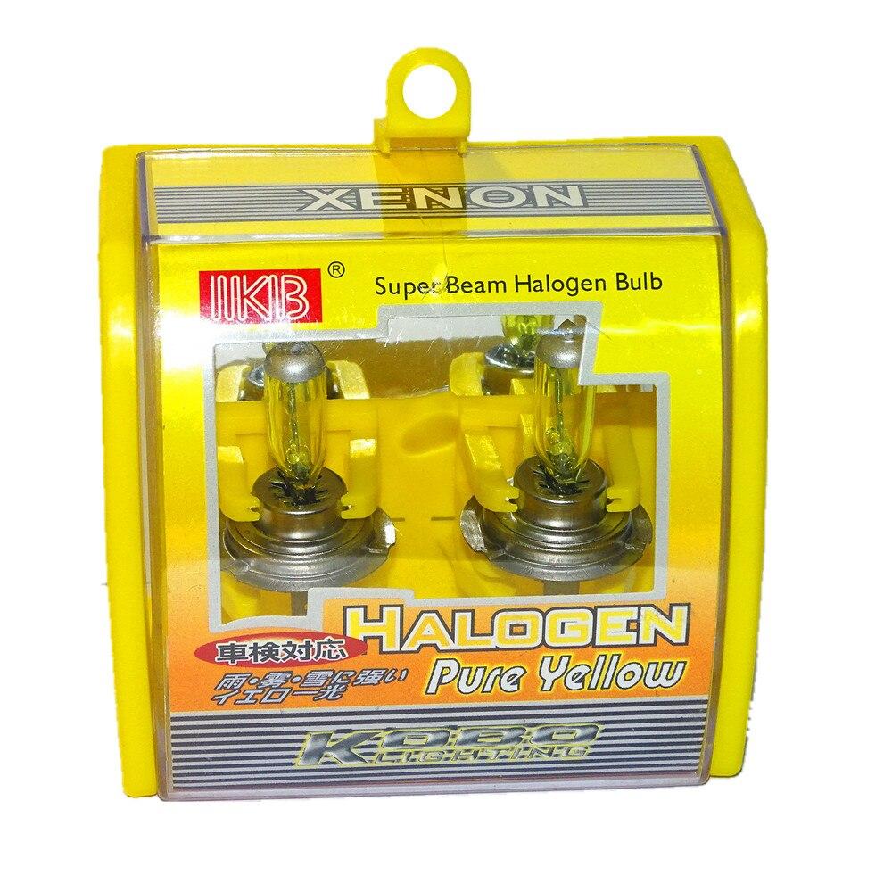 10 pièces H7 12 V 55 W 3000 K Super xénon jaune voiture ampoules Automobile antibrouillard phare ampoule Auto halogène lampe phare lumière