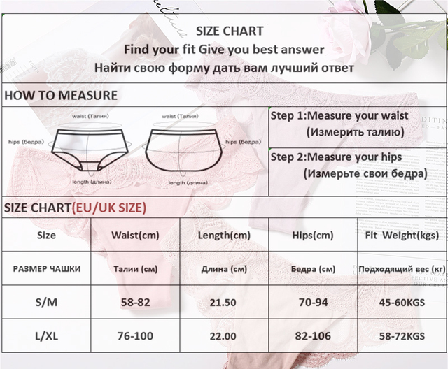 3Pcs Panties Sexy G-String Underwear Lace Briefs For Women Fashion Floral Panty Female Lingerie Low-Rise Brief Ladies Thong L XL 6