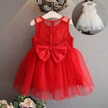 Фотография baby dress for girls dresses 2017 baby clothing baptism 1st Birthday Dresses For Girls kids  infantil robe bebes fille