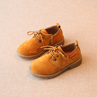 Children Unisex Leather Shoes Genuine Leather Kids Shoes