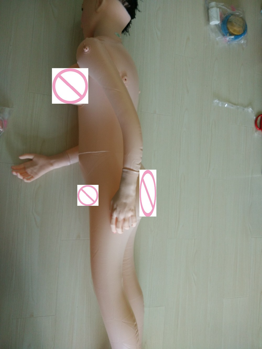 Oral/Vaginal/Anal Sex Dolls Thicker Factory Outlet Inflatable doll Chest can be filled with water Male masturbation Sex Products 18