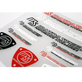Newest Car Styling MS Speed Accessories Sticker and Decal for Mazda 2 3 5 6 Cx-2 Cx-3 Cx-5 Cx-7 Mx-3 Mx-5