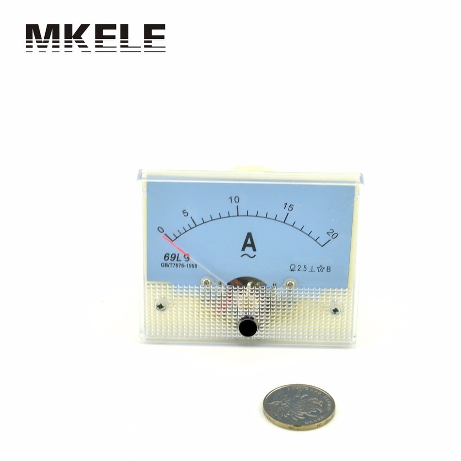 ФОТО New Arrivals AC 69L9(450V) Durable Ammeter Current Ampere  Meter Pointer Diagnostic-tool Tester Ampermeter Amperimetro China