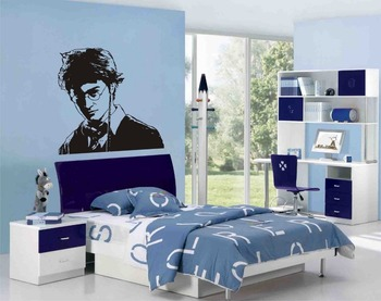 Free Shipping HARRY POTTER CHARACTERS Wall Art Stickers Decals&Murals for kids room