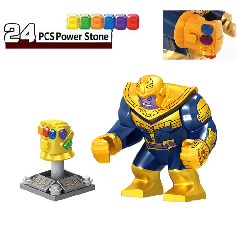 Avengers Infinity War Thanos Infinity Gauntlet Lego Building