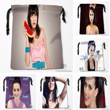 Custom Katy Perry Drawstring Bags Printing Travel Storage Mini Pouch Swim Hiking Toy Bag Size 18x22cm#180412-11-59