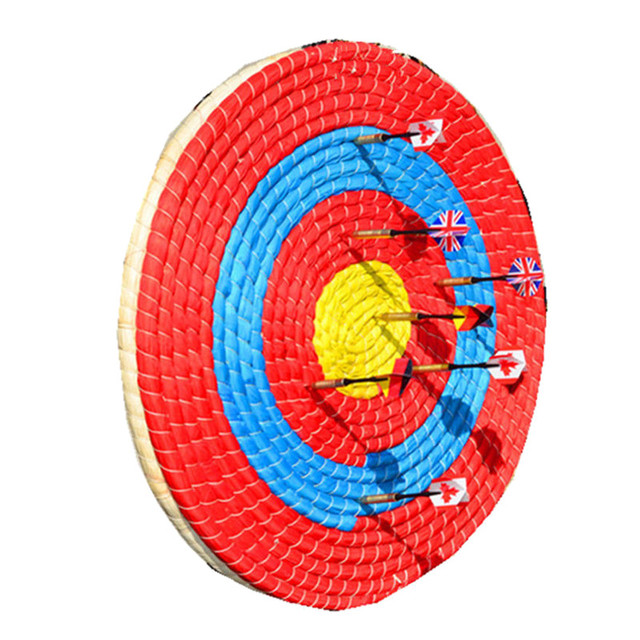 Best Deals Archery Straw Arrow Target Boards Single Layer Bow Shooting Home Decor Lightweight Outdoor Sports