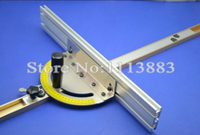 лучшая цена Miter Gauge + T-track 800mm for Bandsaw/Table Saw/Router Table