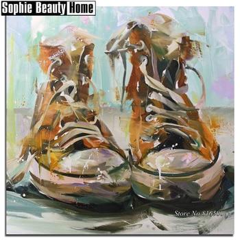 5D DIY diamante pintura paisaje tablero zapatos Full Drill mosaico Cruz puntada Kits hecho a mano bordado artesanías venta 188033