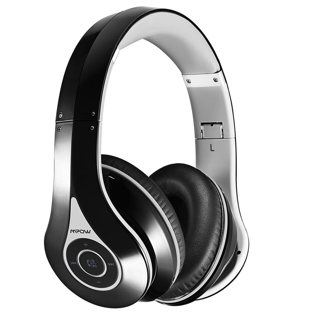 Mpow Original On-Ear Bluetooth Headphones Wireless Headsets High Fidelity Stereo Sound Music Earphone Foldable w/ Built-in Mic