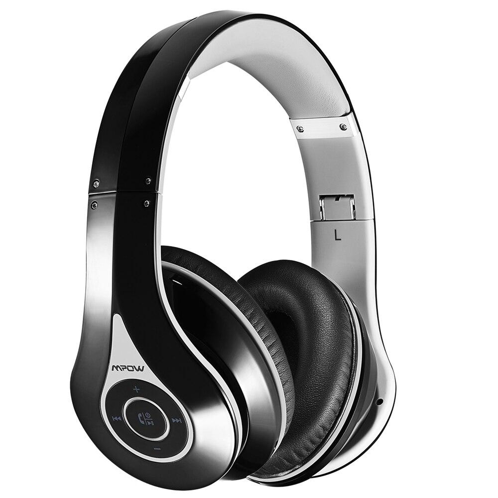 bilder für Mpow Original On-Ear Bluetooth Kopfhörer Drahtlose Headsets High Fidelity Stereo Sound Musik Kopfhörer Faltbar w/Eingebautes Mikrofon
