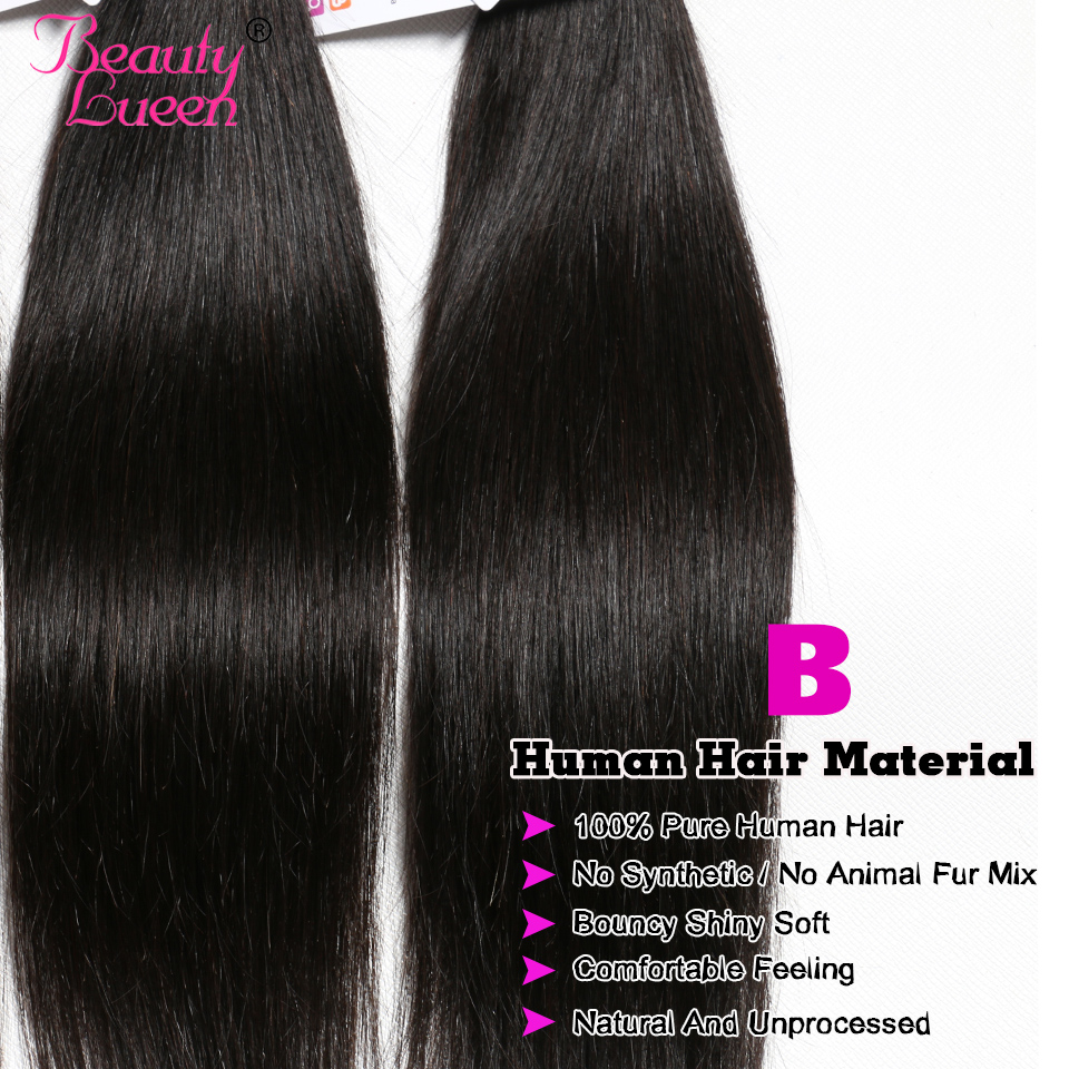 brazilian straight hair weave bundles with closure remy 34 bundles brazillian straight hair with closure jet black human hair (29)