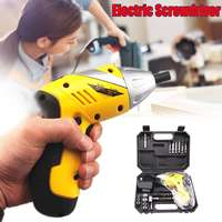 4.8V Rechargeable Electric Screwdriver Cordless Drill Driver Kit 800MAH Ni Cd batteries 120x180mm Two way Power Hand Tool