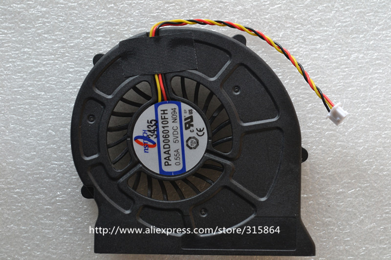 NEW LAPTOP CPU COOLING FAN for <font><b>MSI</b></font> CR420 CR420MX CR600 EX620 <font><b>CX620MX</b></font> CX420 PAAD06010FH-N094 image