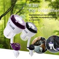 II Auto Luftbefeuchter Doppel USB Port Auto Aroma Befeuchter Diffusor 50 ml Aromatherapie Ätherisches Öl Diffusor Luftreiniger 4 Farben