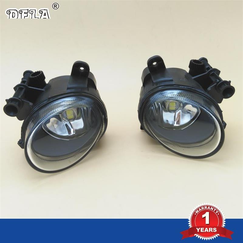LED Car Light For VW Passat CC 2008 2009 2010 2011 Car-Styling Front LED Light Fog Lamp Fog Light oem 1pcs original car front left fog light assembly suitable 3g0941661g f vw passat b8 2016 3g0 941 661 g