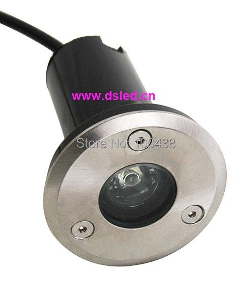Livraison gratuite!! Imperméable à l'eau, bonne qualité, lumière au sol de 3 W LED, lumière de chemin de LED, lumière LED souterraine, C, DS-11-13-3W