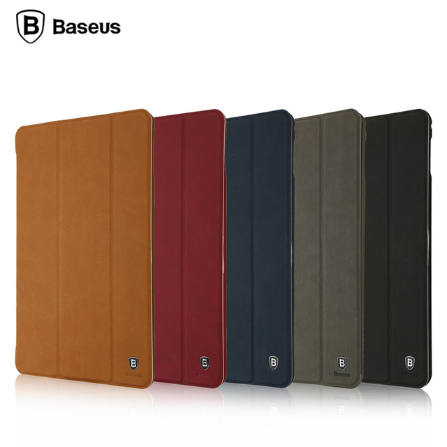 online store 719a6 86ccb US $14.99 |Flip Leather Cover for Apple iPad Mini 4 Smart Case Original  Baseus Auto Wake Sleep Stand Protective Tablet Shell for iPad mini4-in  Tablets ...