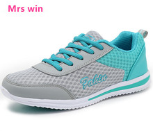 new Summer style Women Running Shoes Outdoor Sneakers Female  Breathable zapatillas mujer Mesh Comfortable Light Sport Shoes