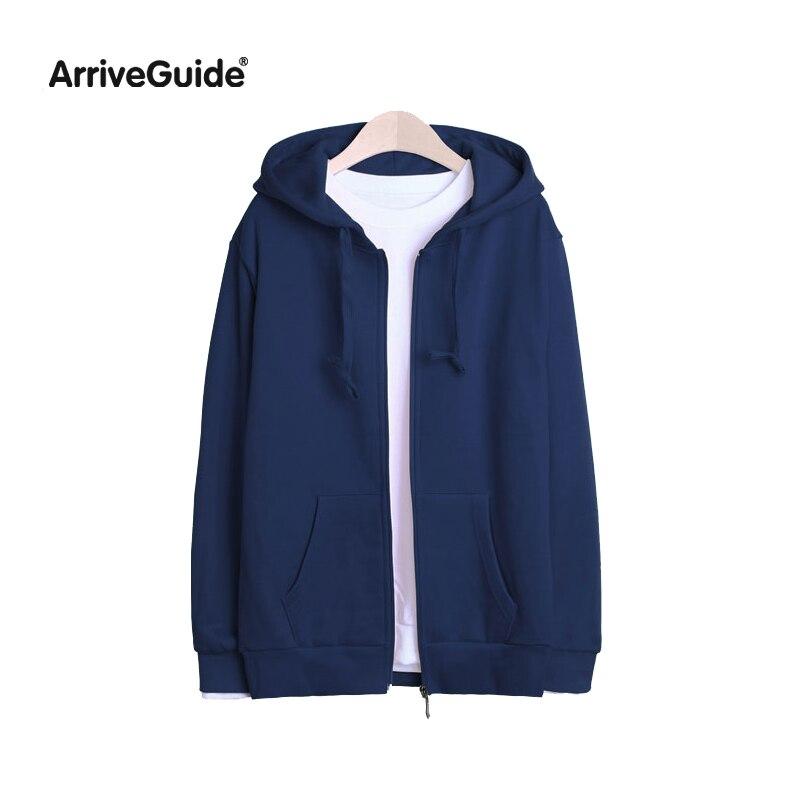 2017 new winter sweatshirt coat fleece hooded thickened loose Korean short code women men's zip up hoodie sweatshirt jacket coat