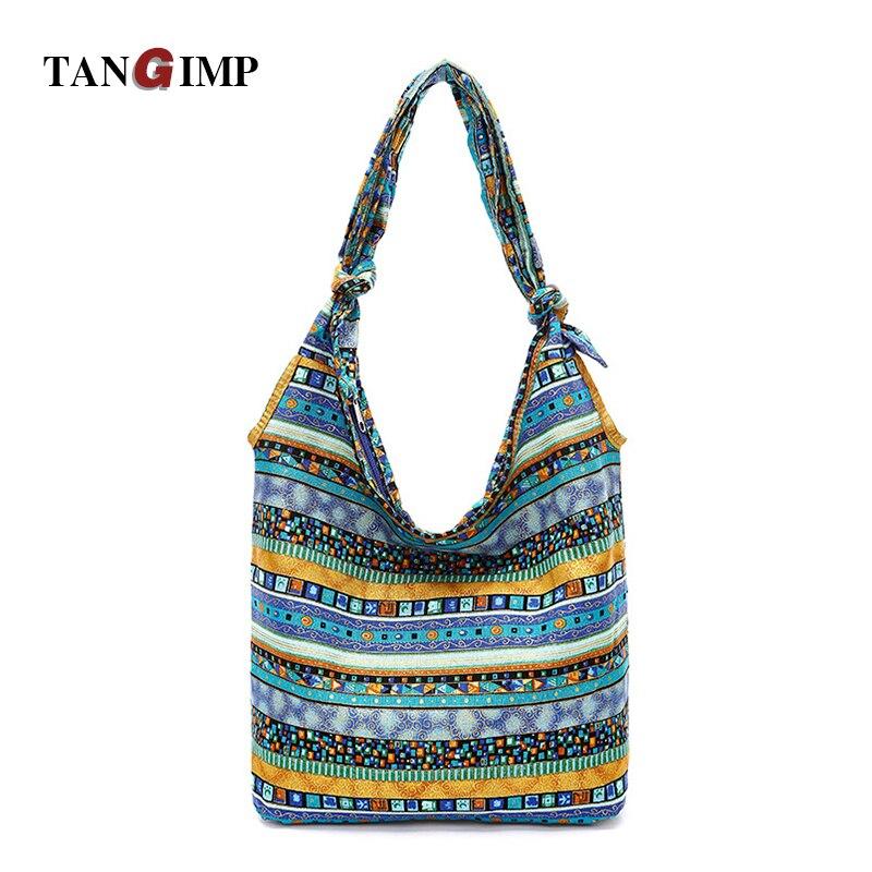 c628141cc4d2 TANGIMP Women Slouch Bags Blue Aztec Hippie Gypsy Boho Blue Ethnic Tribal  Oversize Hobo Sling Crossbody. US  23.32. TANGIMP 2018 Corduroy Handbags ...