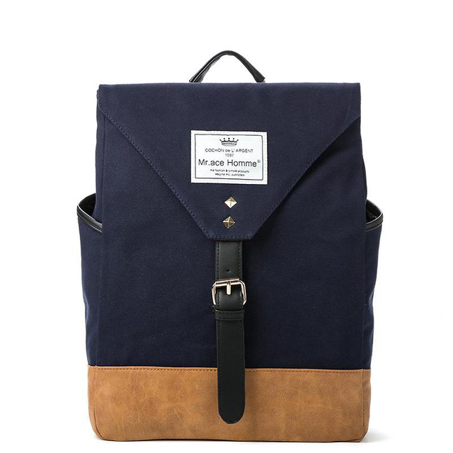 Canvas Backpacks School Bags For Teenage Girls 2017 Women Men s Backpack  Female Bookbag Mochilas Travel Rucksack 16956ee0adbee